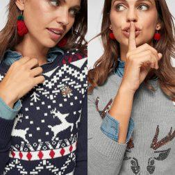 Lustige Weihnachtspullover